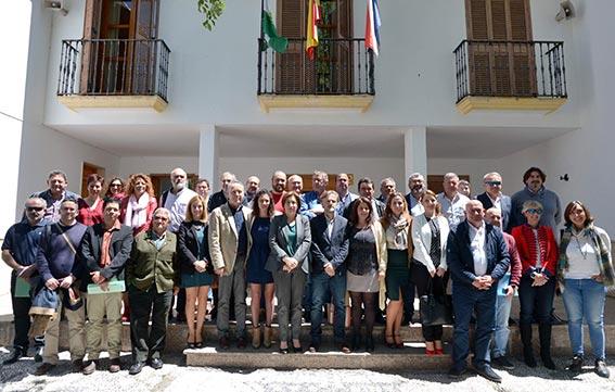 El consejero presentó en Arenas del Rey el Plan de las Sierras de Tejeda, Almijara y Alhama de Málaga y Granada