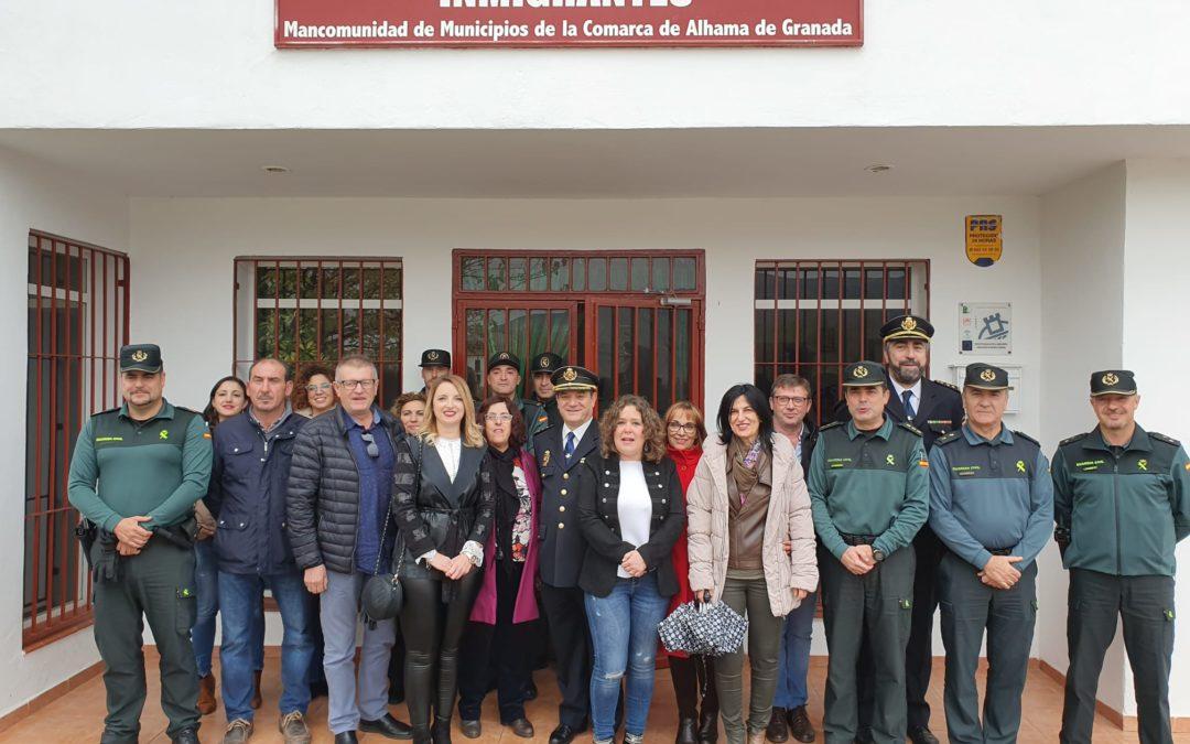 Primera reunión de la mesa de trabajo de la Comarca de Alhama para la seguridad ciudadana y la inmigración con la Subdelegada del Gobierno