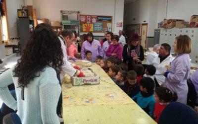 Escolares del Ciclo de Infantil del CEIP Cervantes visitan el C.D.O «El Lucero