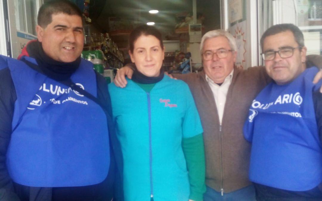 El alumnado del Lucero colabora con el Banco de Alimentos