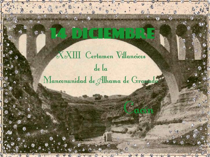 14 de diciembre XXIII Certamen de Villancicos