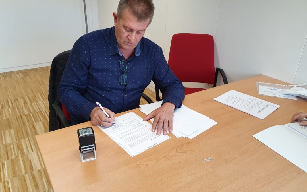 La Mancomunidad firma nuevos convenios con la Junta de Andalucía para el Centro Ocupacional y la Residencia