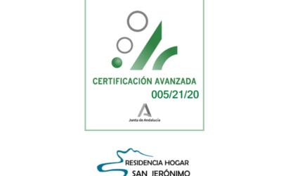 La Residencia de Mayores de la Mancomunidad de Municipios de la Comarca de Alhama, único centro de la provincia en recibir el certificado de la Agencia de Calidad Sanitaria de Andalucía.