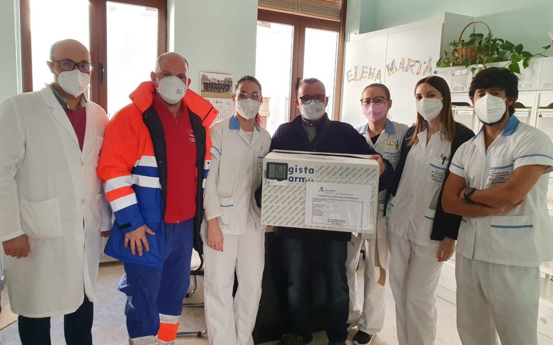 La vacuna llega a la Residencia Comarcal de Alhama