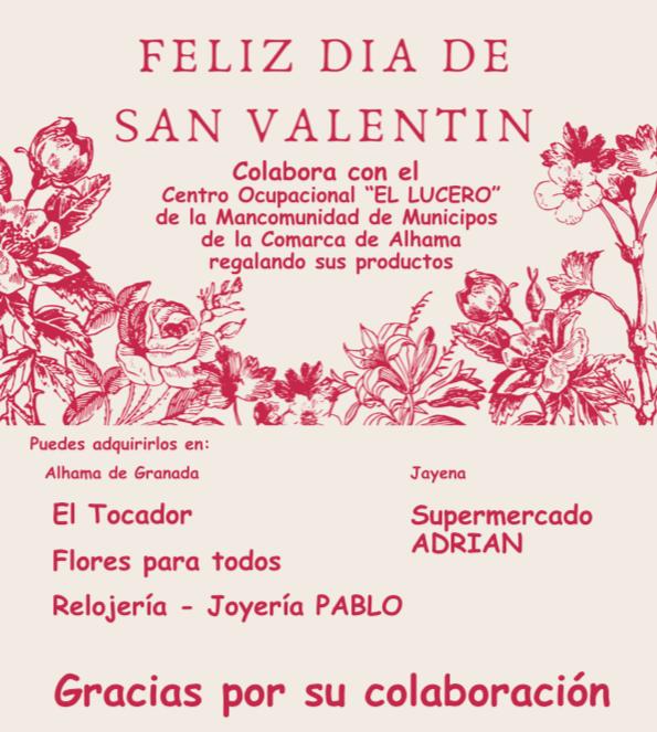 Colabora en San Valentín con «El Lucero»